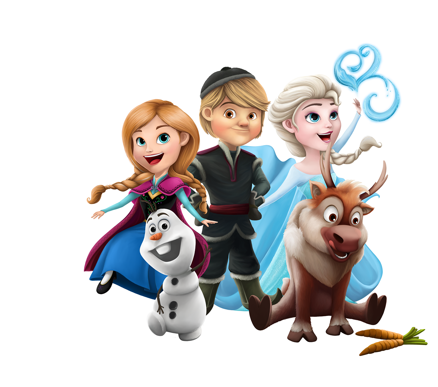 Frozen Characters On Behance