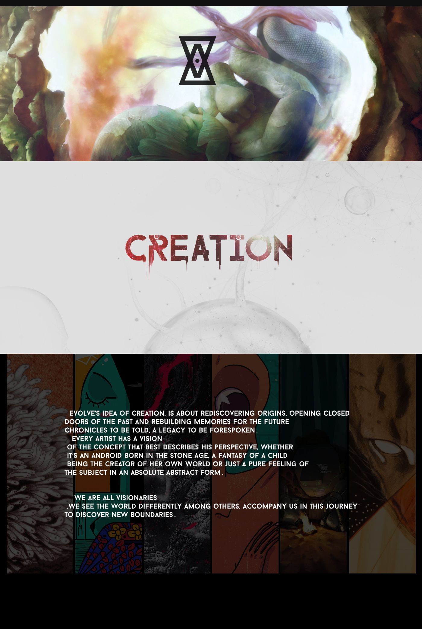 evolve creation art Collective  digital paint Illustrator egypt