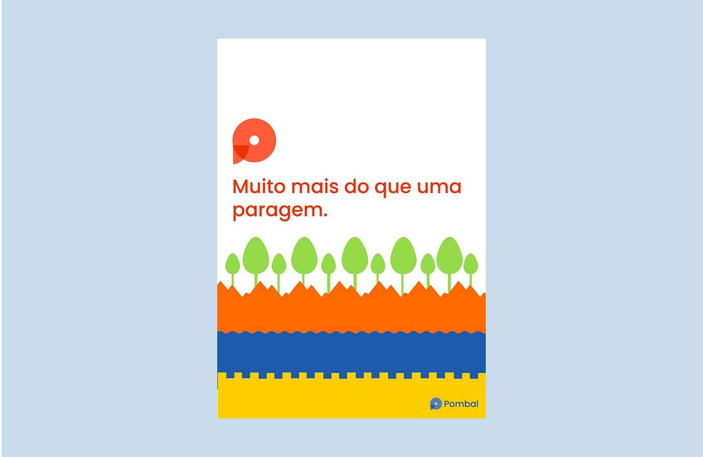 branding  city design city identity identidy Identity Design logo marketing   pigeon Pombal Portugal