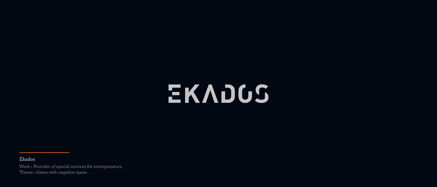 Ekados - logo for provider of special services for entrepreneurs