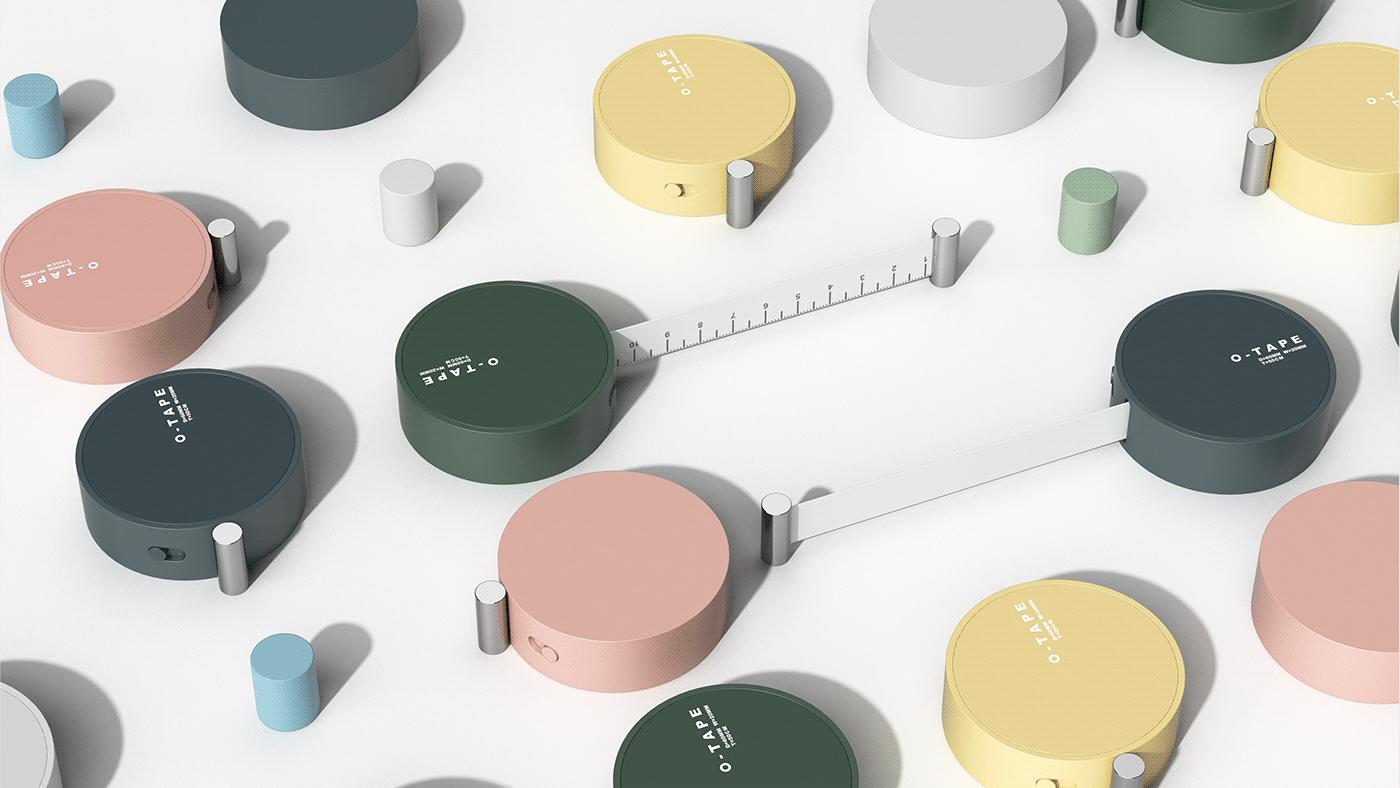 卷尺 工业设计 文具 符号化
