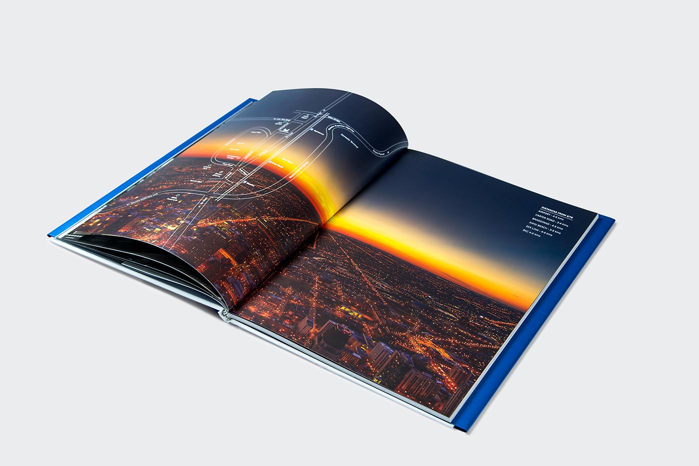 majestic luxury real estate brochure on behance