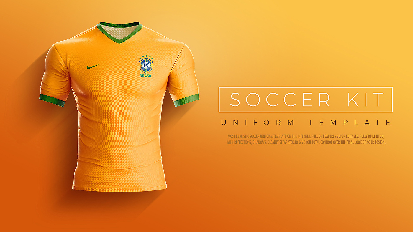Goal Soccer Kit Uniform Template On Behance