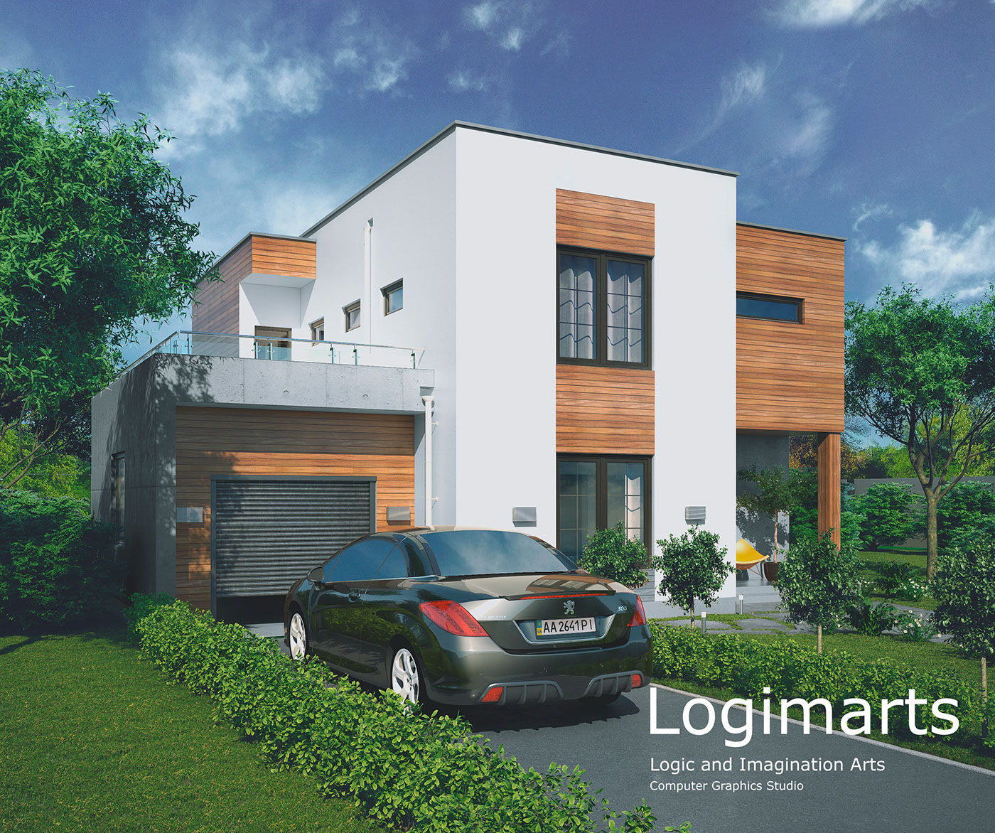 3dsmax architectural visualization rendering Production architectural design