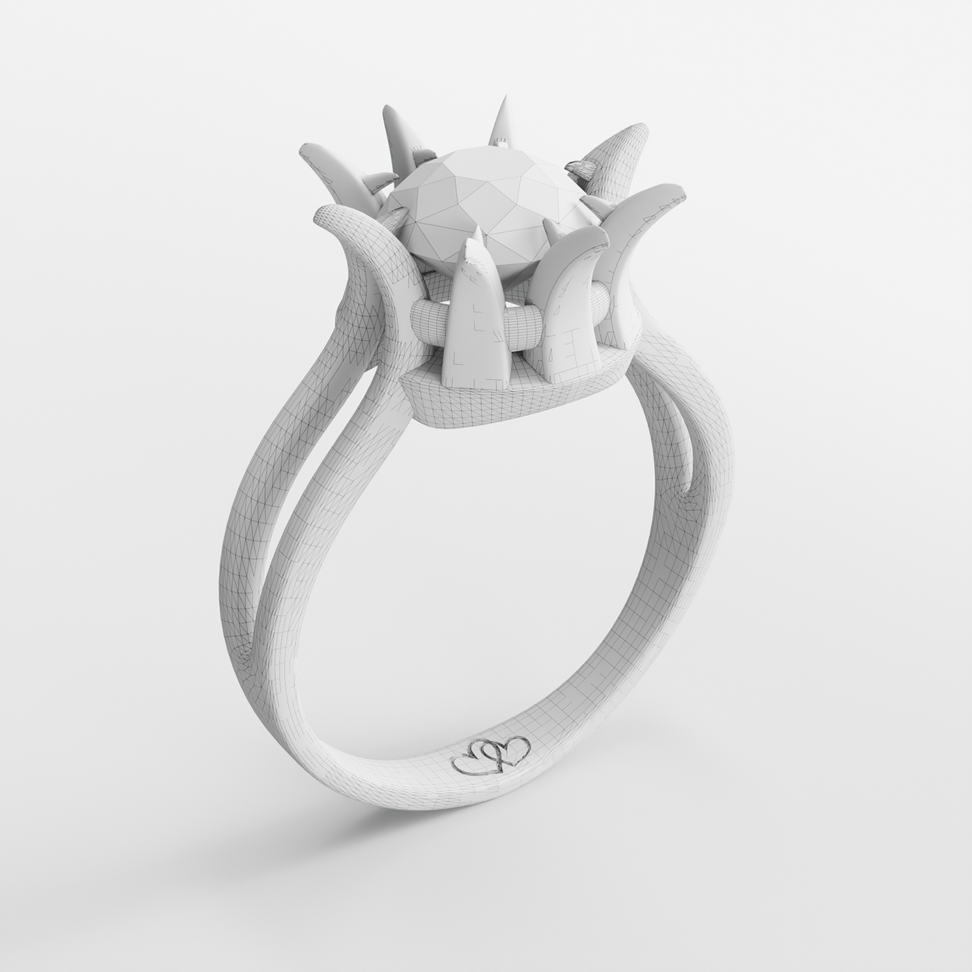 3D,anel,blender,diamante,diamond ,gold,luxcore,ouro,ring