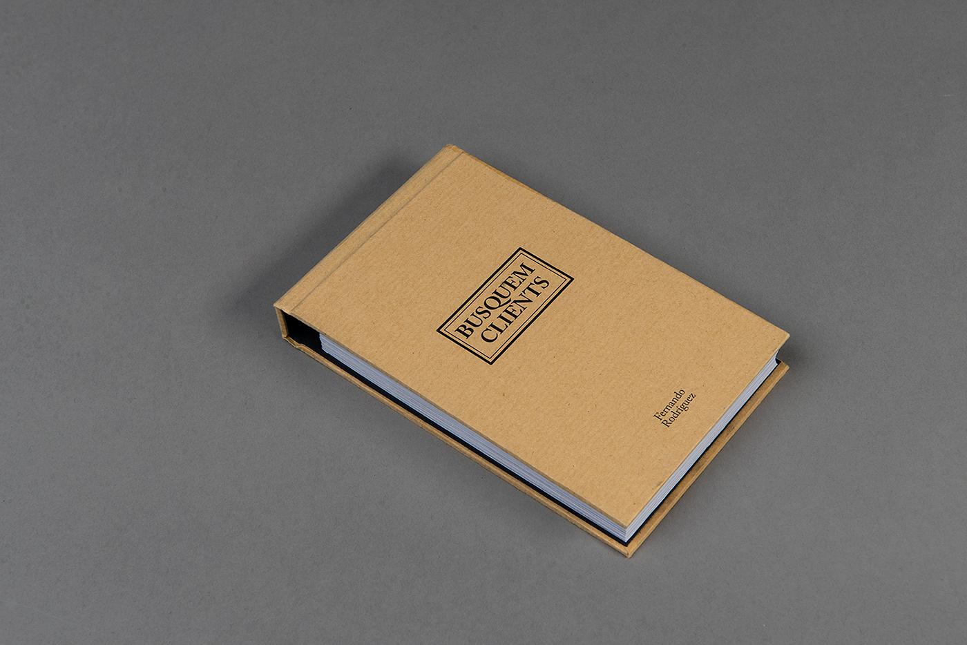 libro book phoyography editorial libreta camarero   craft