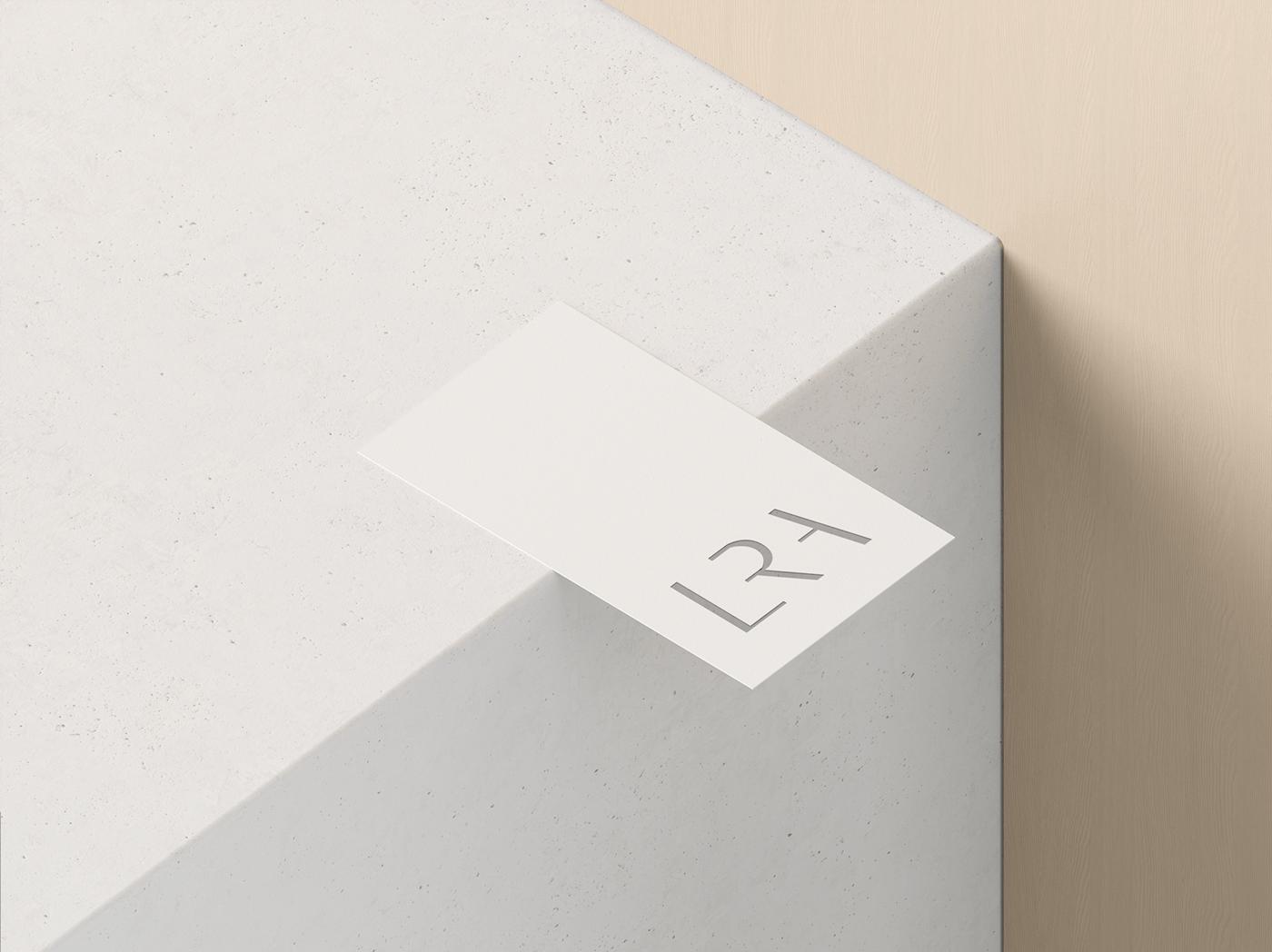 minimal branding  Web Design  business card stationary luxury real estate