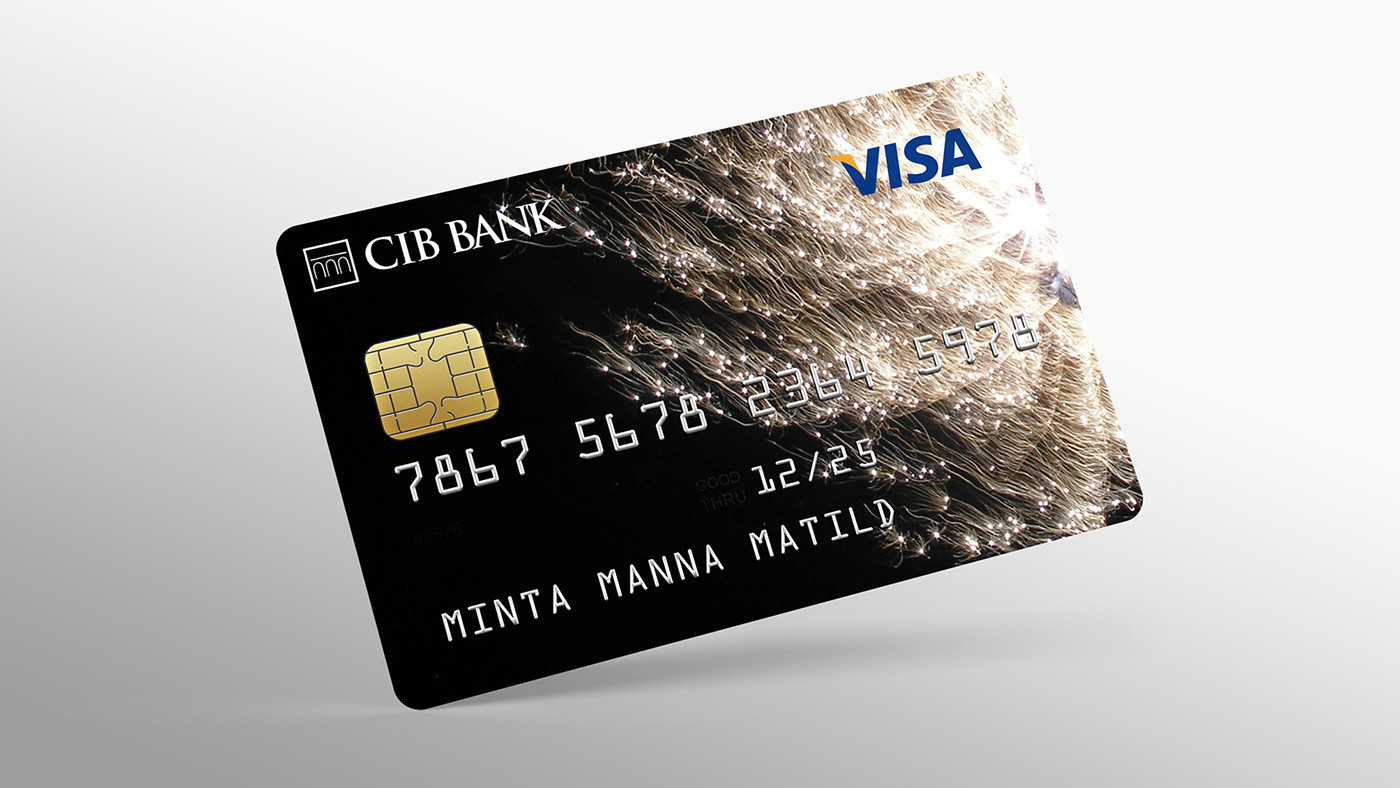 Credit cards for CIB Bank / Internet card on Behance