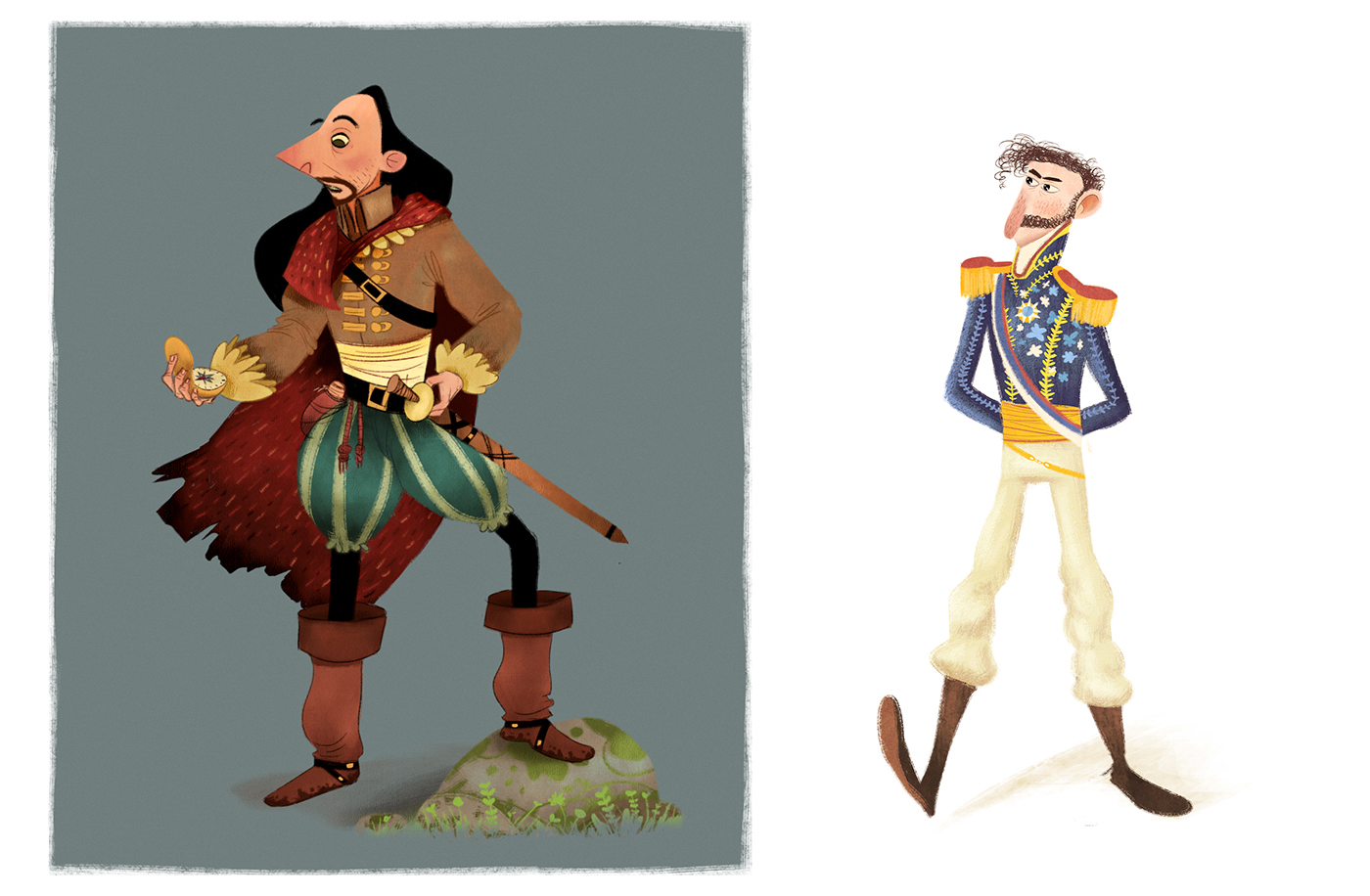 Character Design Behance : Character design on behance