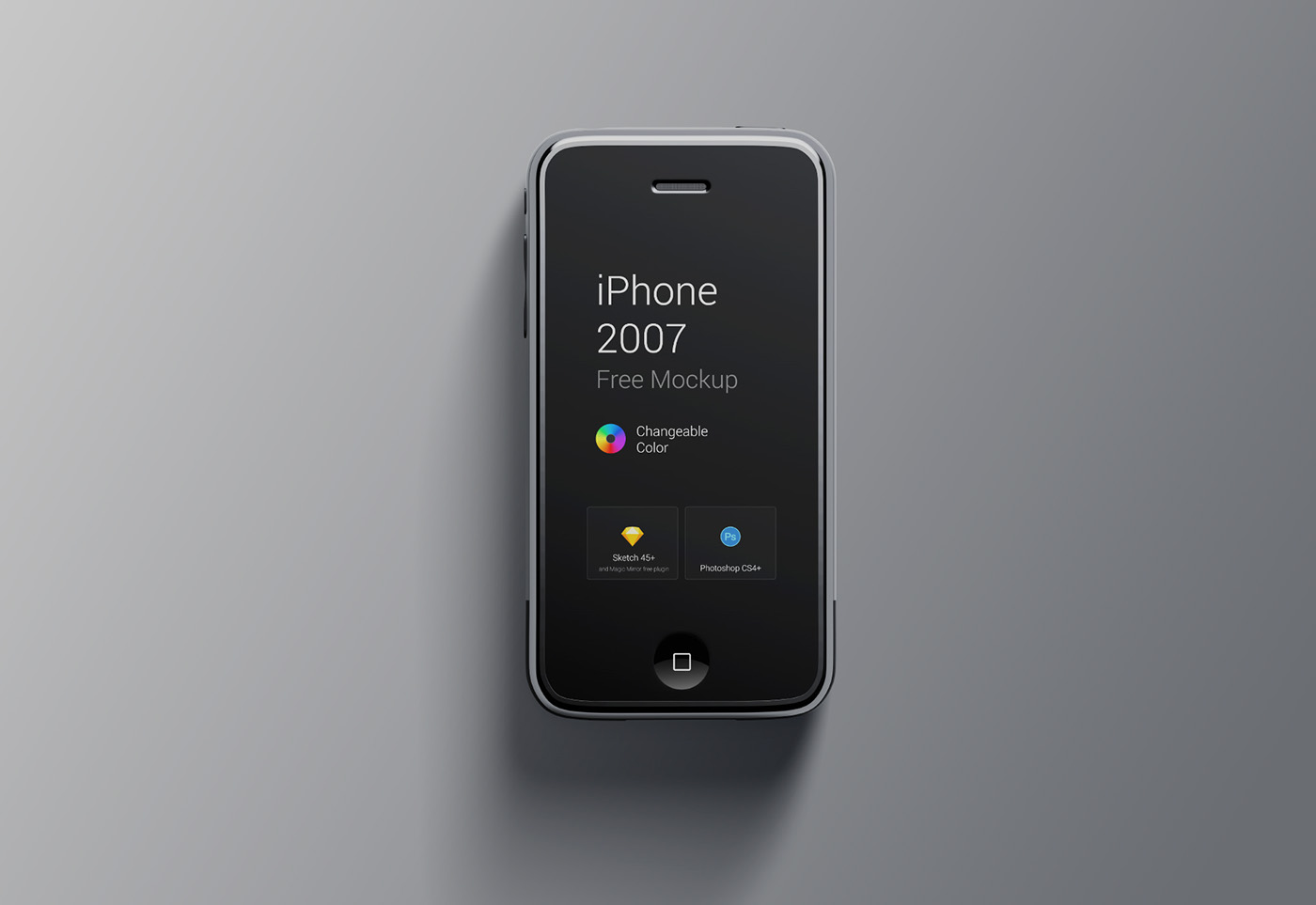 1st generation iphone iphone 1st generation mockup on behance 1423