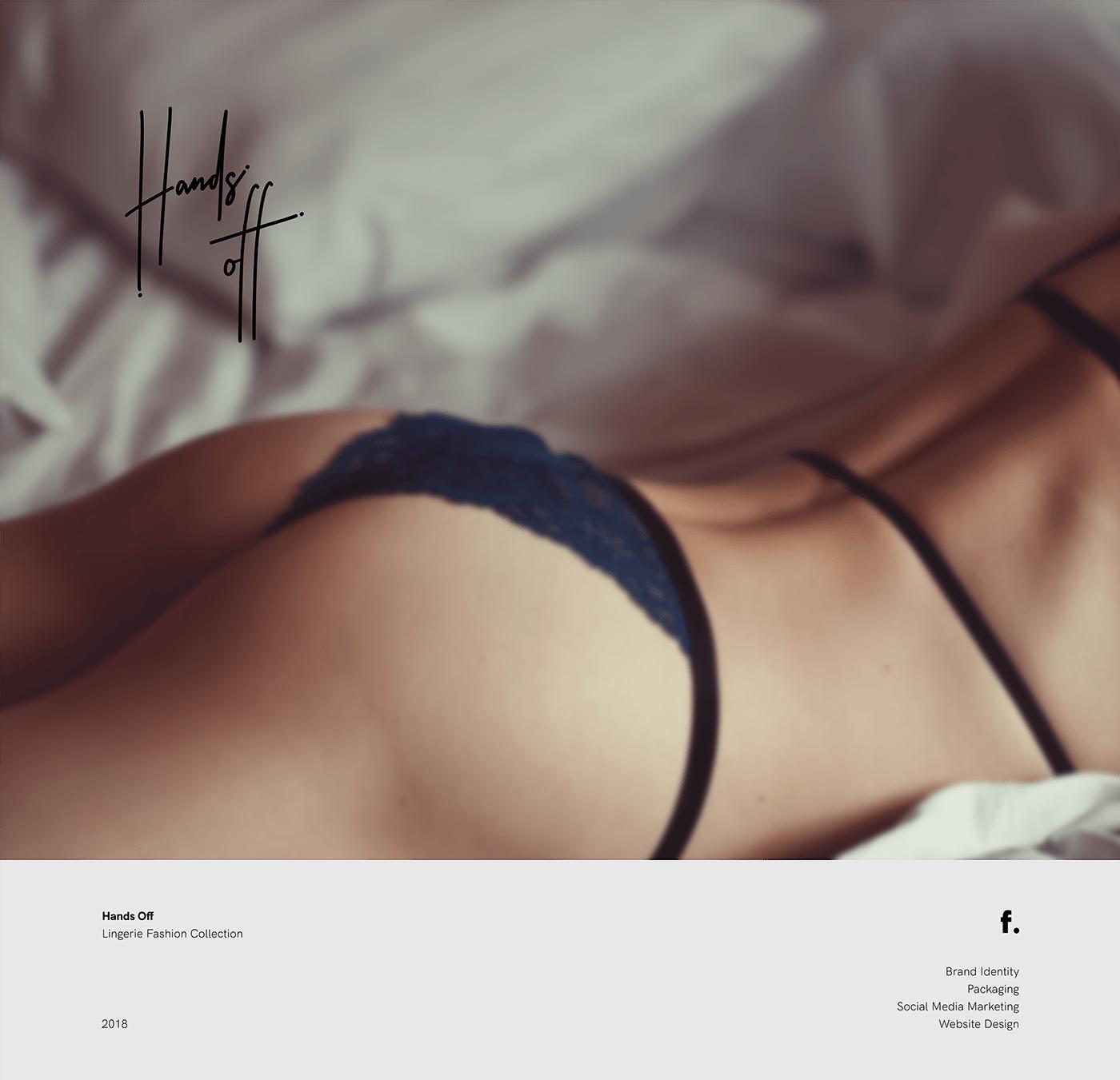 lingerie brand identity handwritten nude Fashion  hand tag feminine boutique women ladies