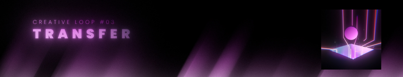 3D after effects loop minimalist motion design motion graphics  purple