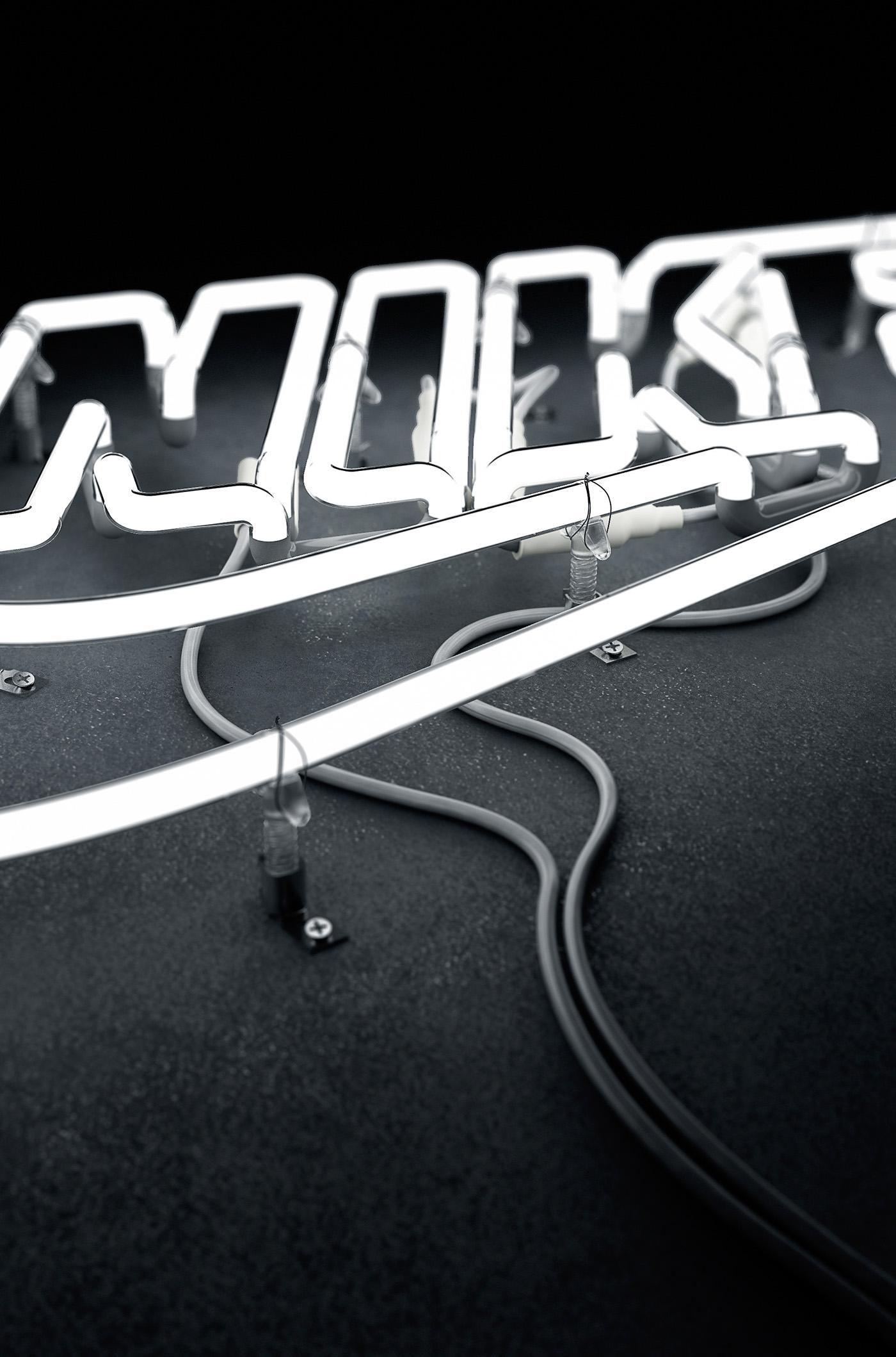 Neon Lamp Design