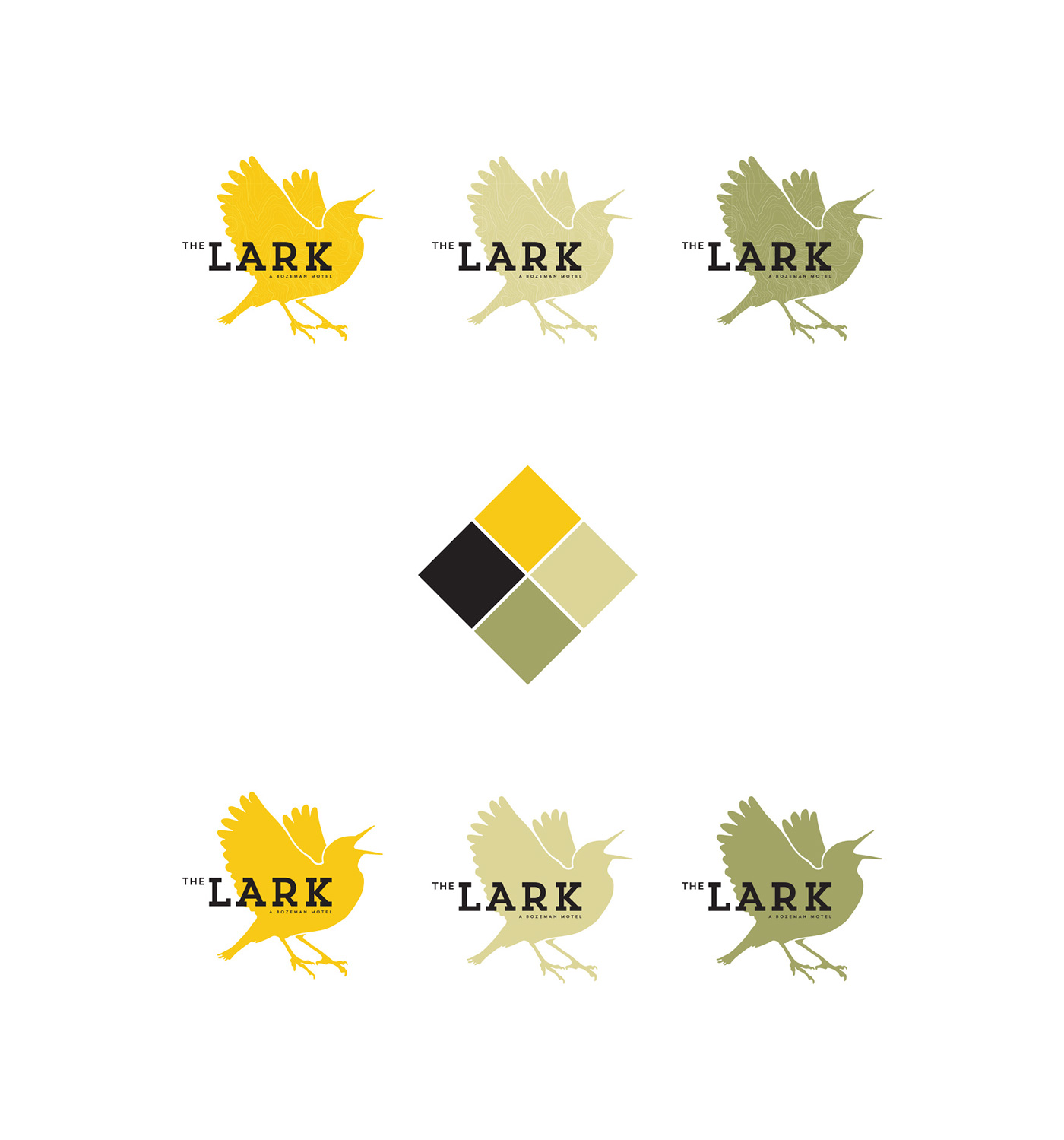logo branding  identity bird Bozeman Montana ILLUSTRATION