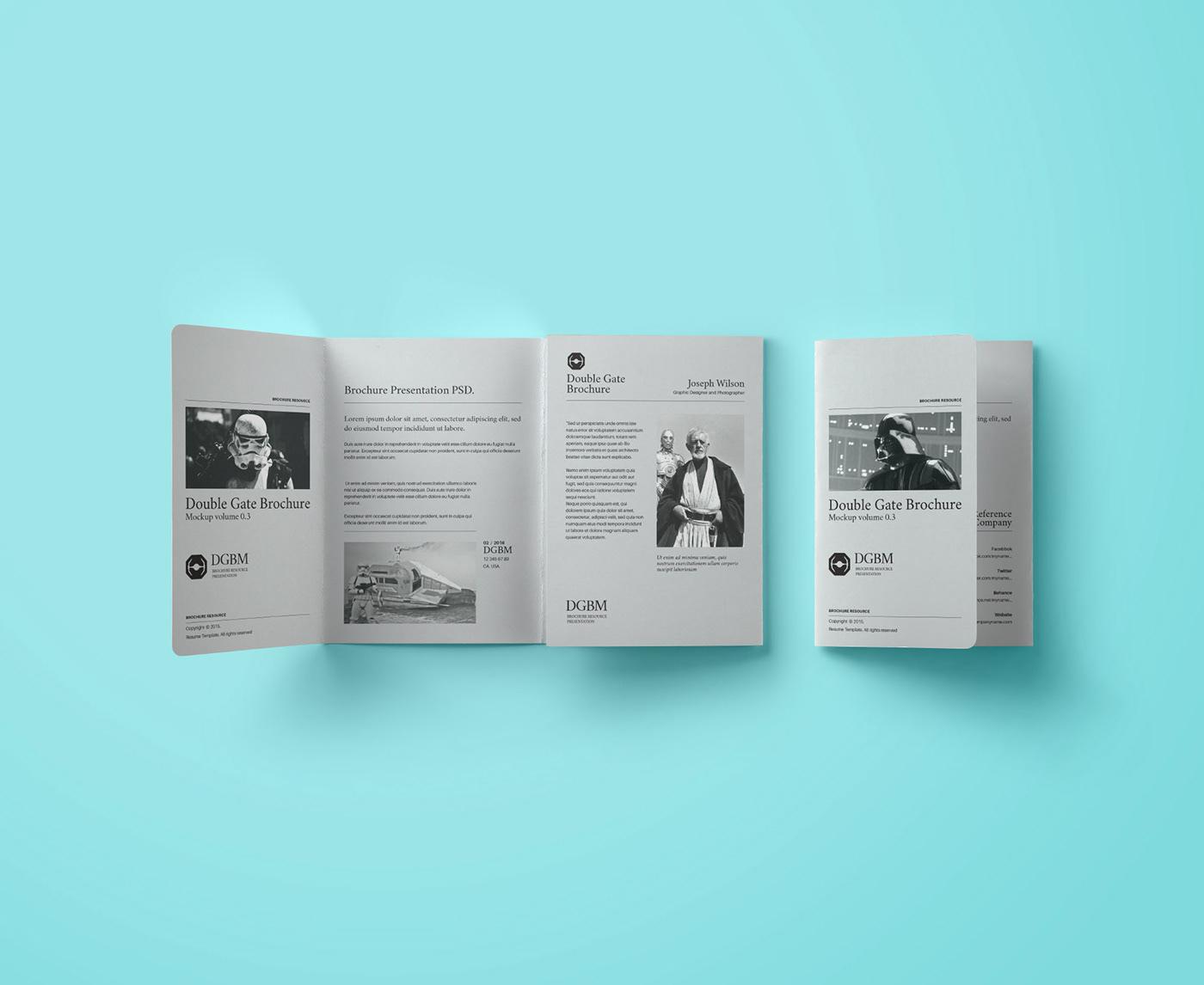10 free brochure mockups on behance
