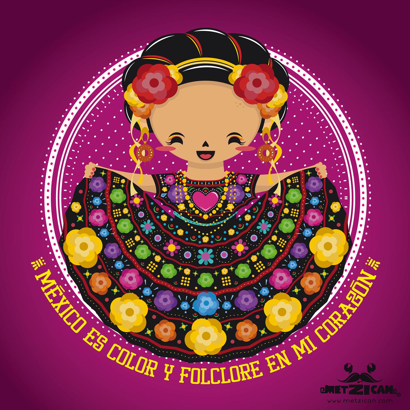 folclore mexicano on behance heart vector art free download heart vector art free