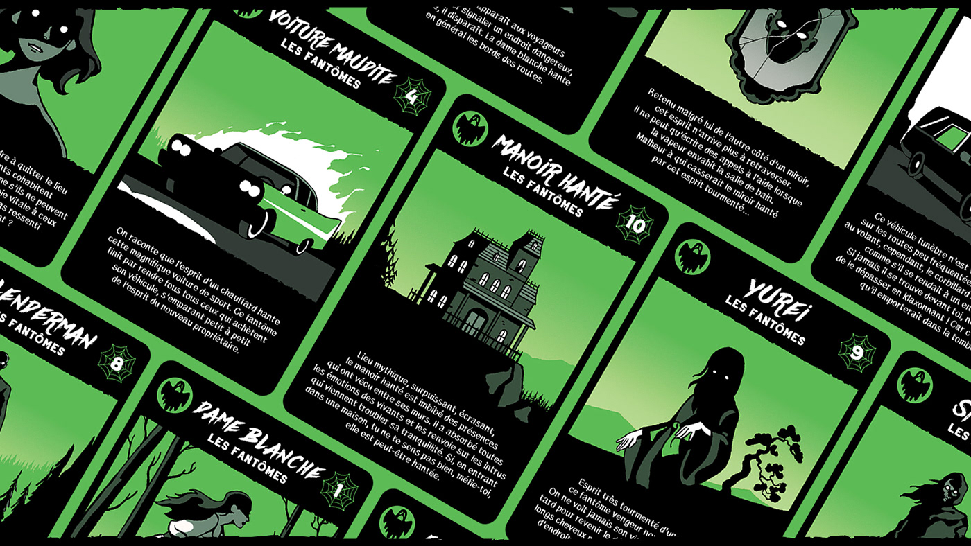 card cardgame edition evil ghost kid monster play Scary wargame