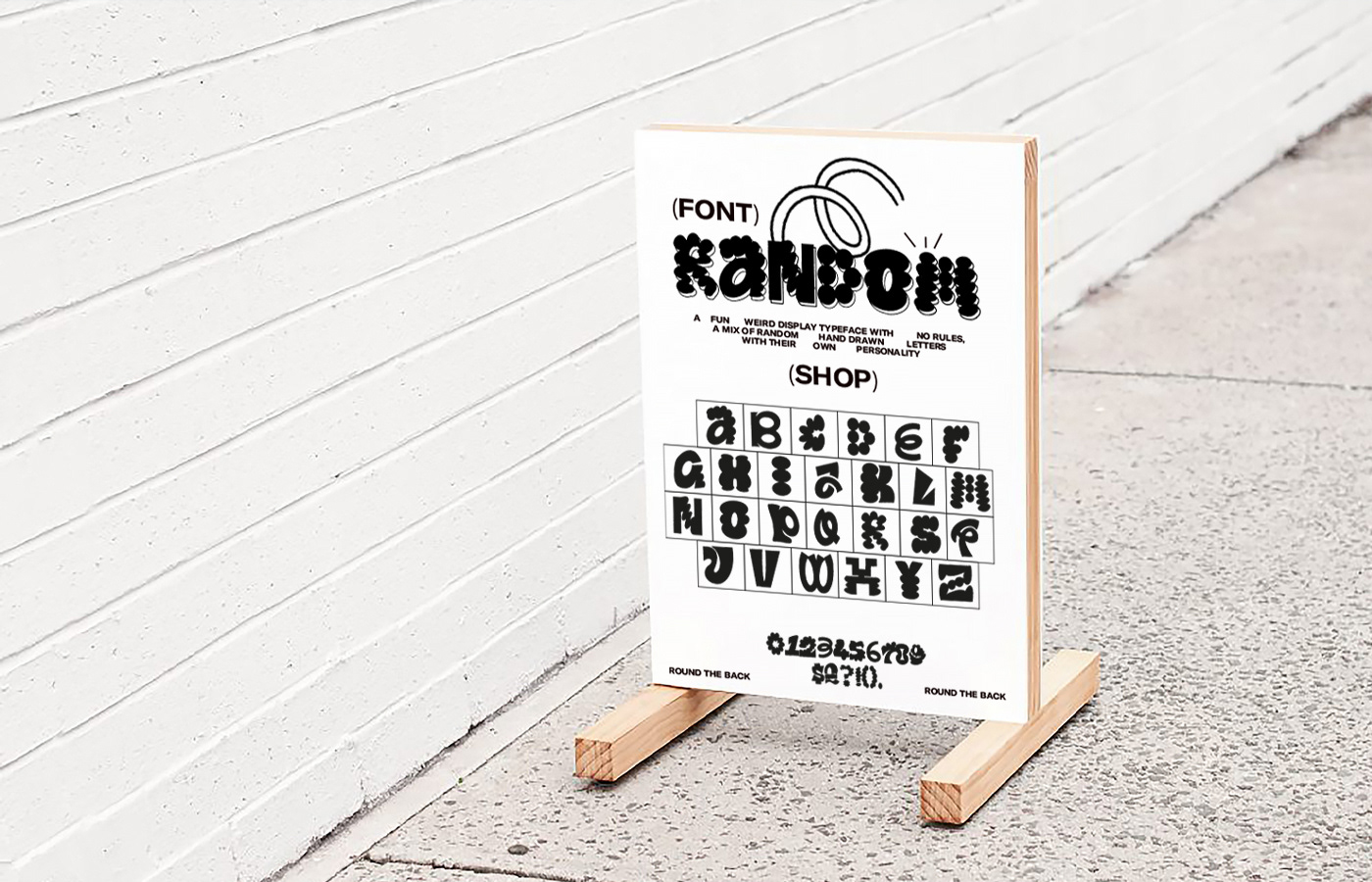 animation  display font experemental font fonts lettering stop motion type Typeface typography