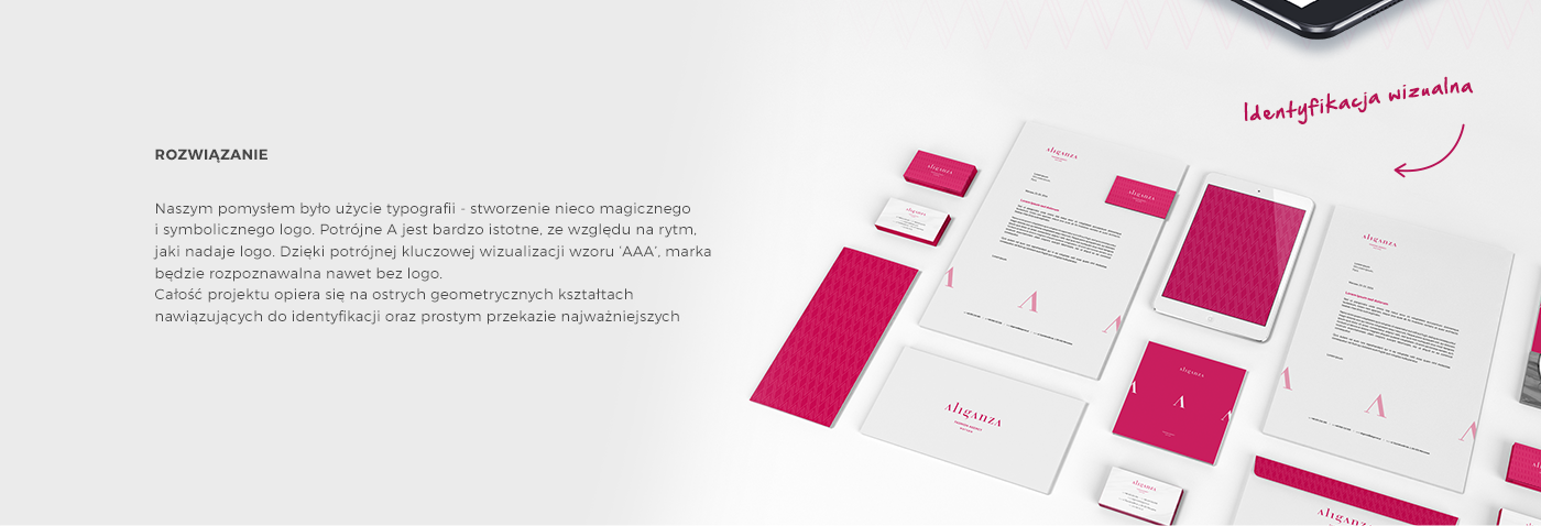 agency,Web,design,fashionable,clothes,brand,warsaw,aliganza,identify,CI,logo,typo,effra