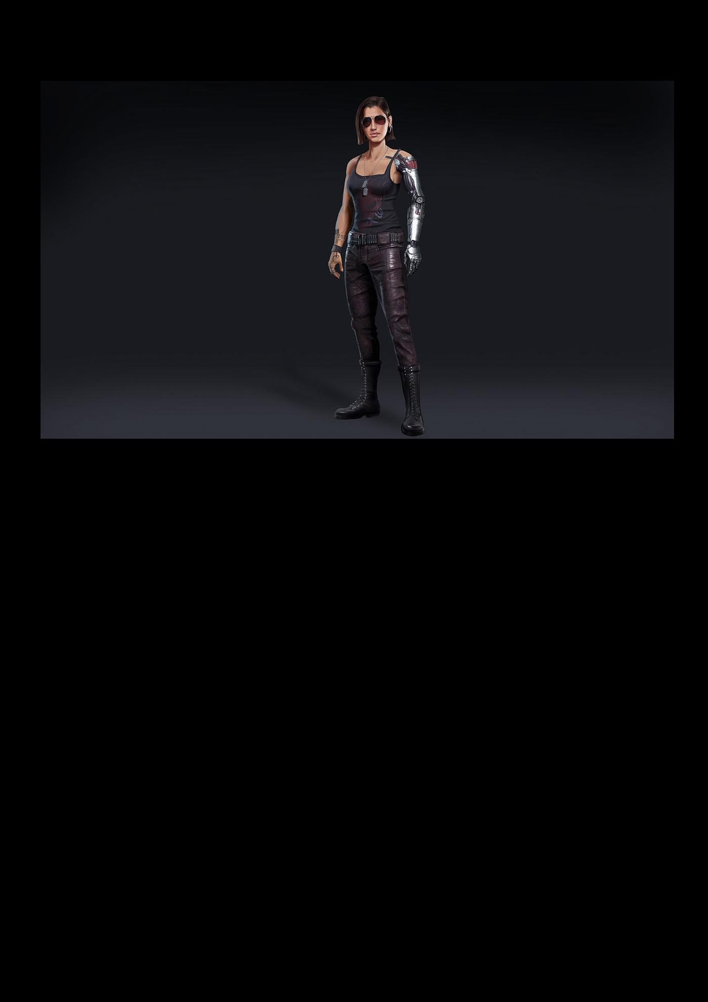 Character design  female game Hero redesign