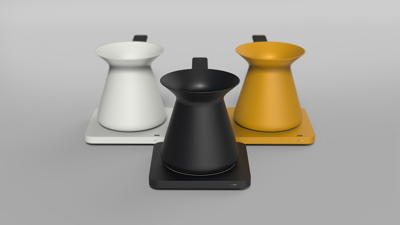 coffee pot product design  Turkish coffee kitchen appliances minimal design sedat özer
