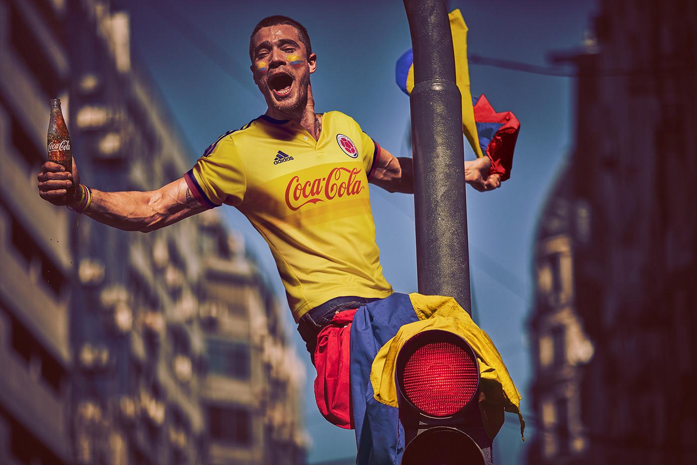 Coca-Cola / Camisetas Mundial