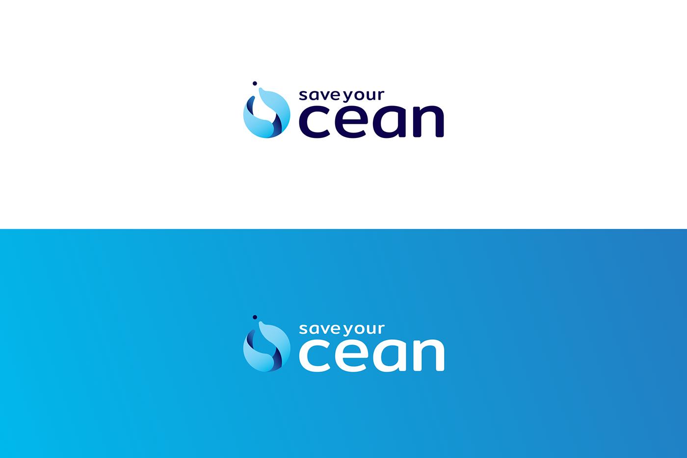 vietnam hcmc brand identity tri logo Ocean water blue