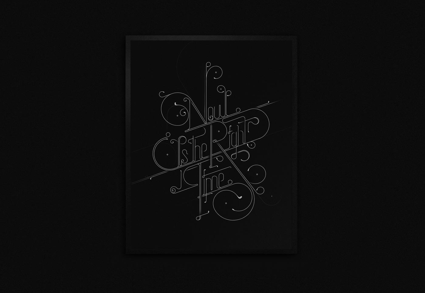 David Mascha type lettering nevertheless Illustrator austria vienna