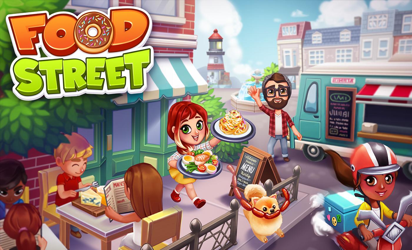 Food Street Mobile Game On Behance