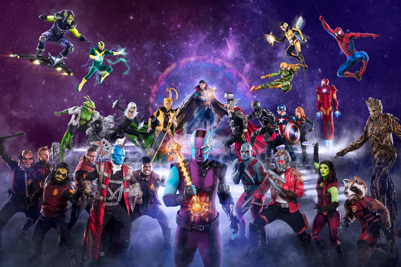 Картинки супергероев вселенной марвел