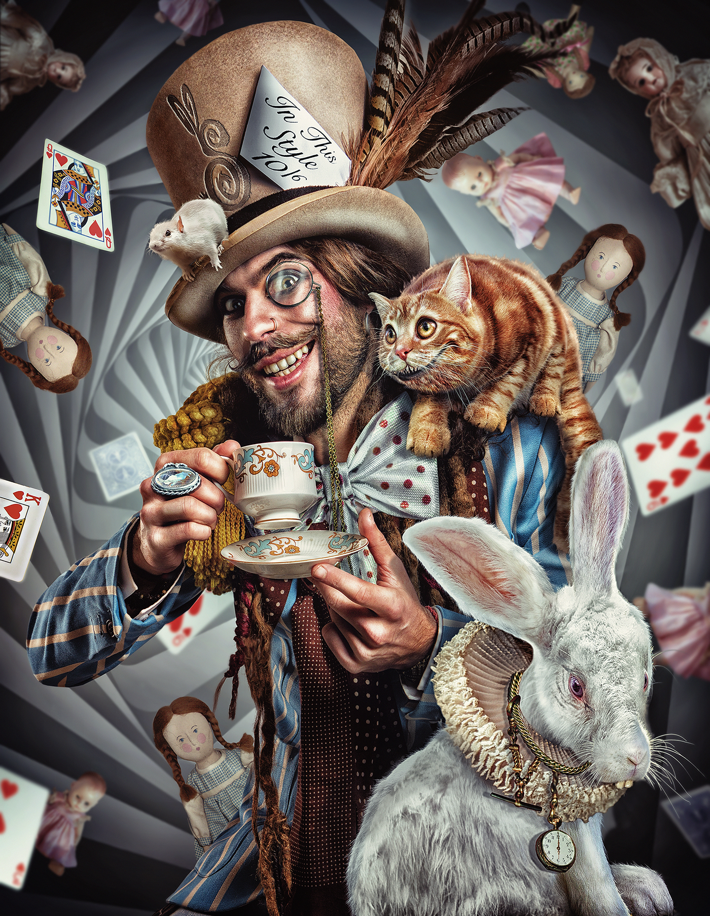 The Mad Hatter on Behance