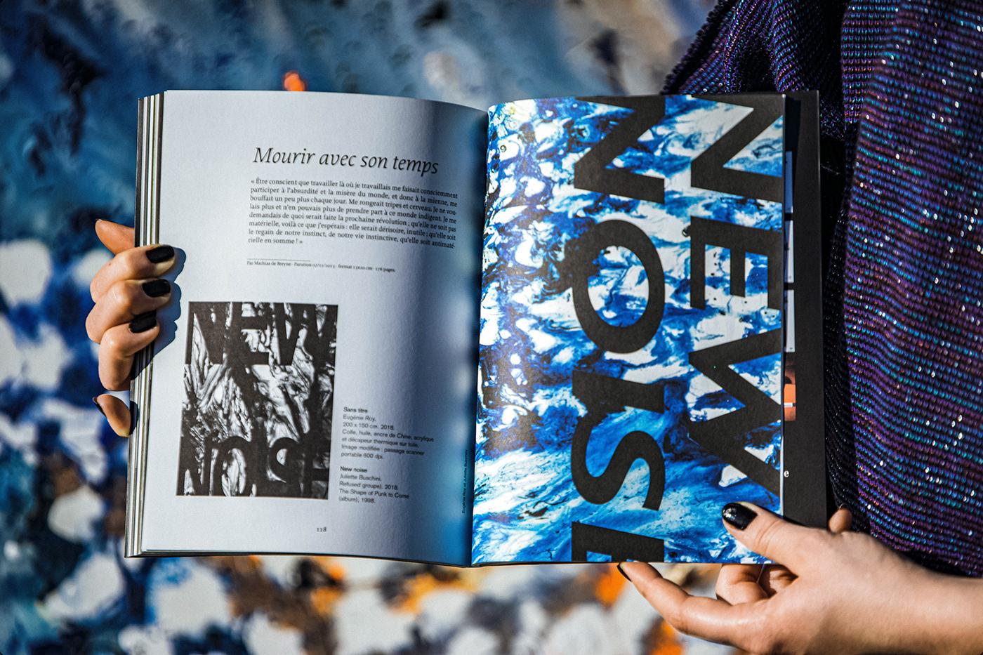 book Collaboration edition graphic design  graphisme livre peinture Photographie projet Typographie