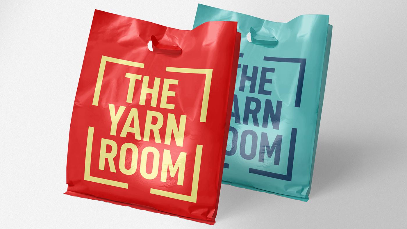 logo brand identity yarn branding  styleguide Logotype Travel arts and crafts crafting Logo system