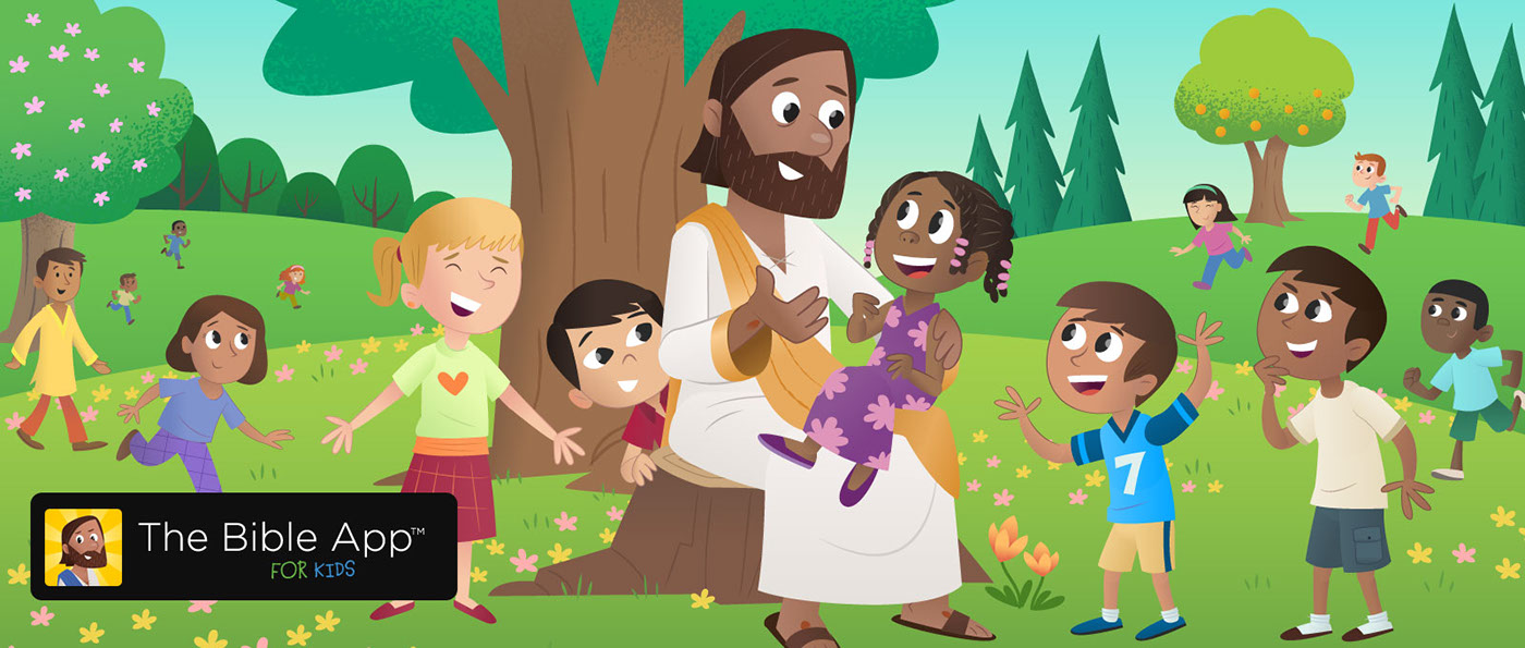 The Bible App for Kids on Behance