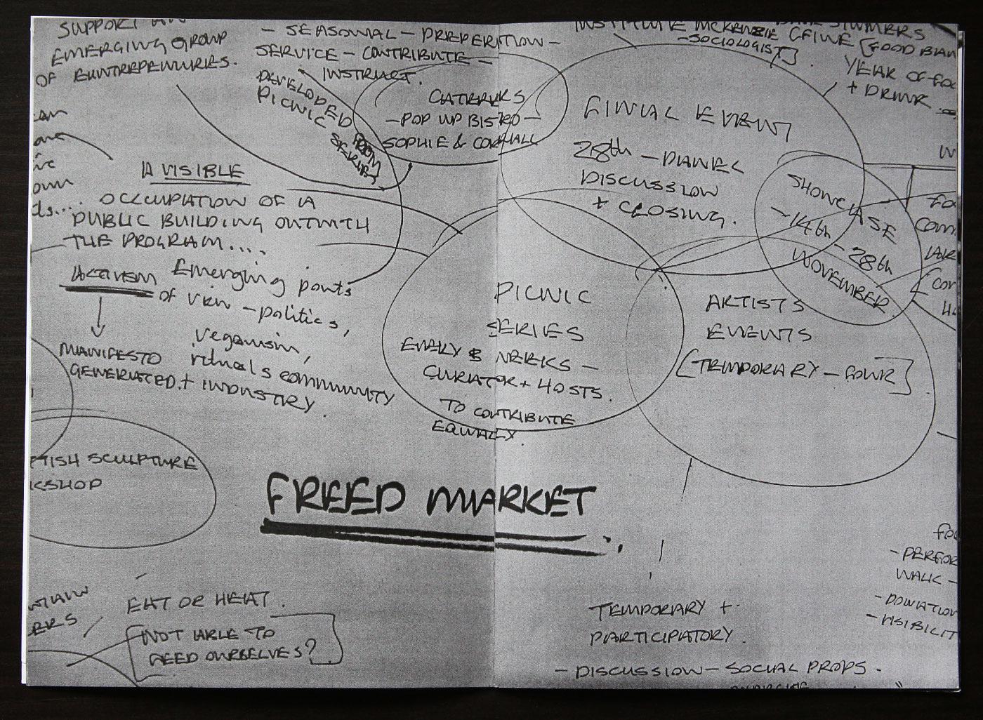 arts scotland Freed MArket rachel grant Aberdeen