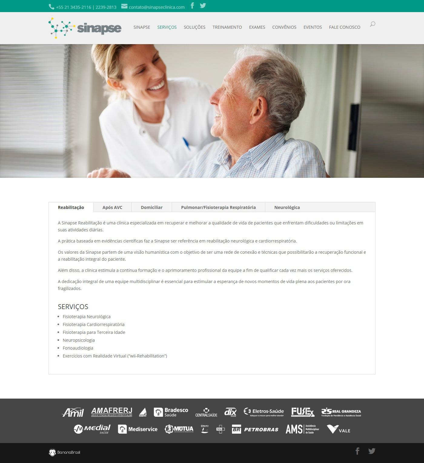 Sinapse Clínica neurology clinic Rio de Janeiro