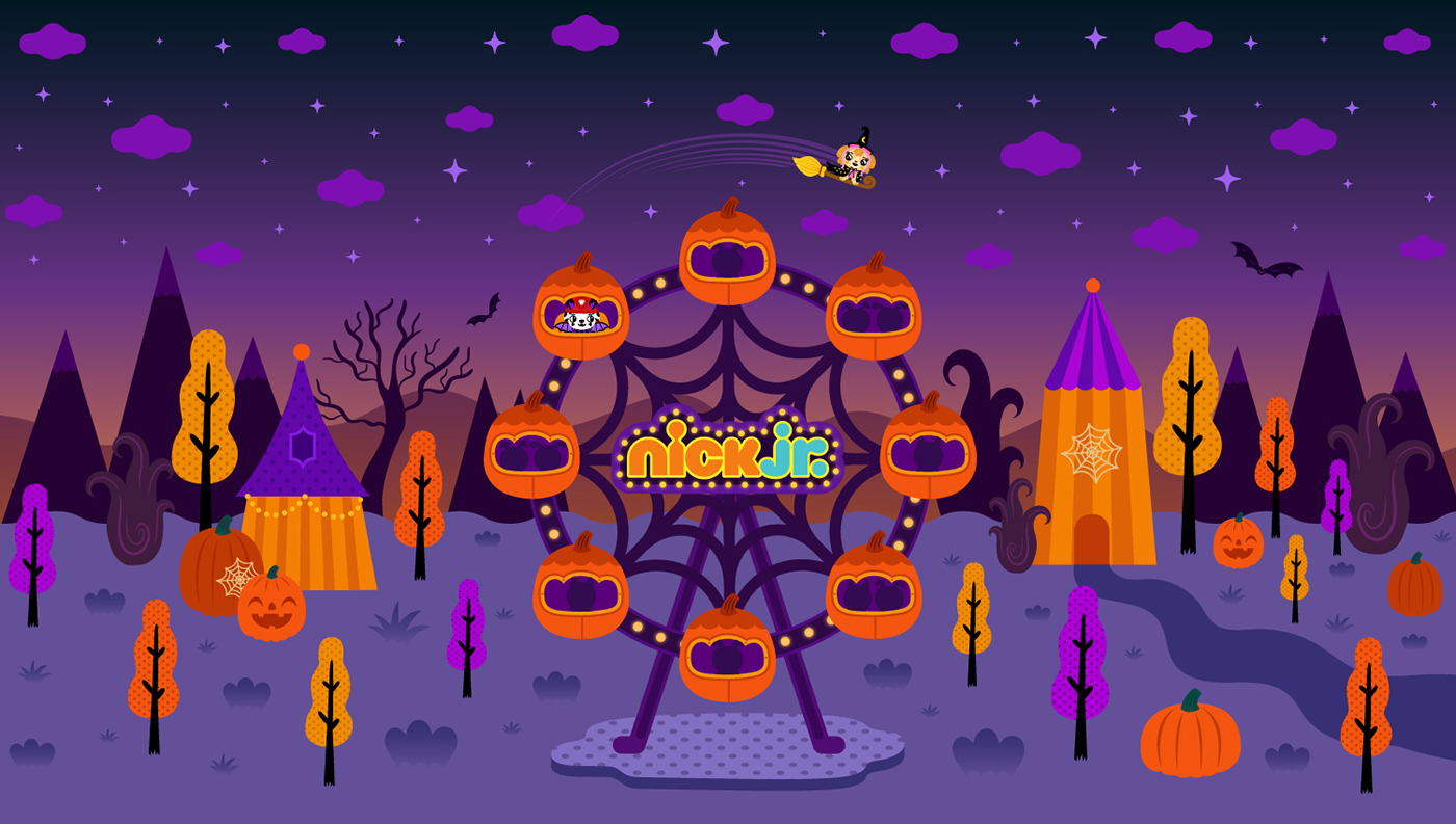 Nick Jr Halloween Campaign On Behance