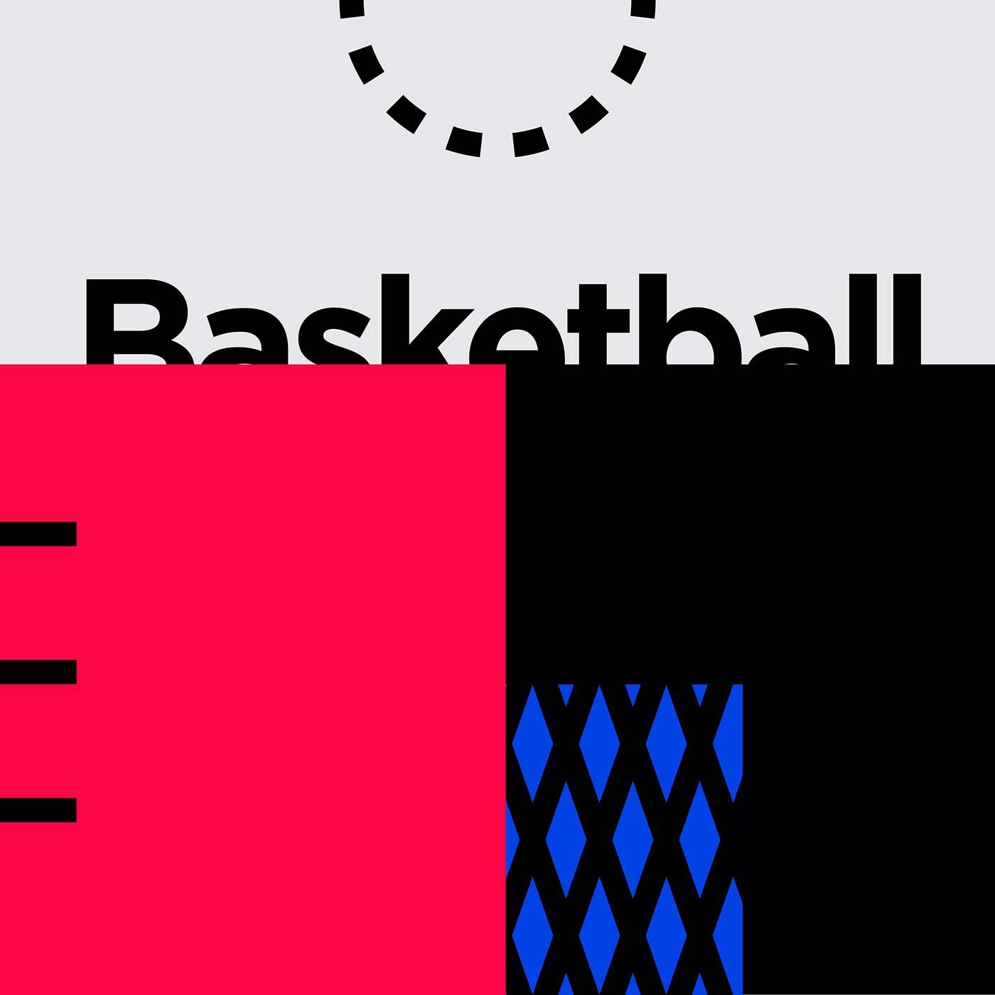 Minimalist Graphic Design - Basketball & Tennis ...