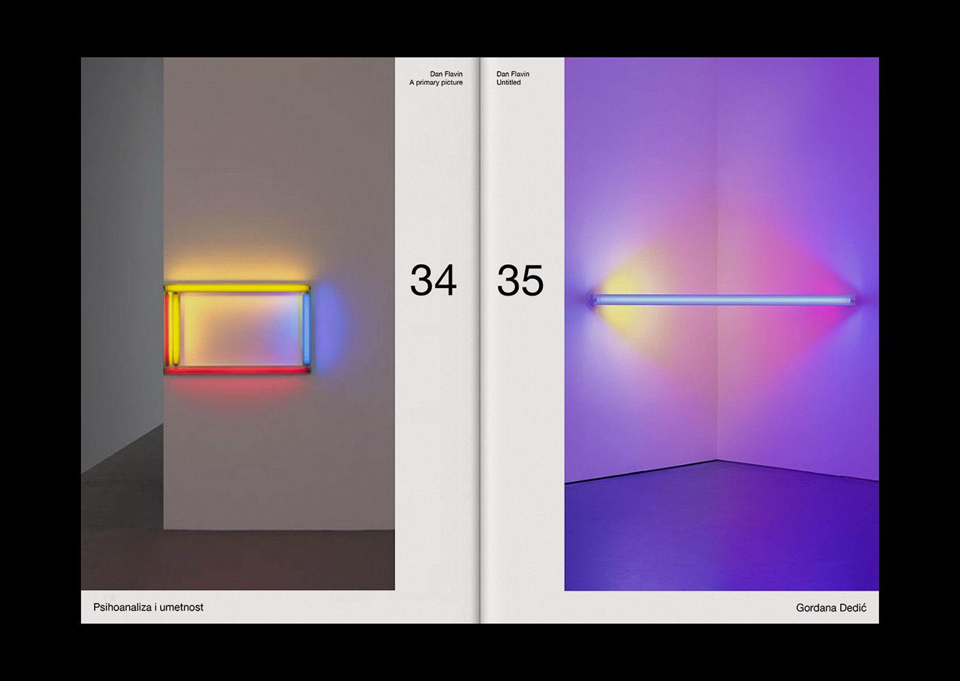 art book contemporary minimal swiss