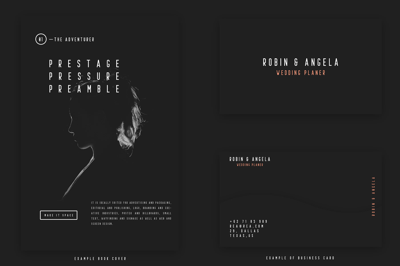 Prestage font family free download on behance prestage font family free download is free for personal use enjoy reheart Image collections
