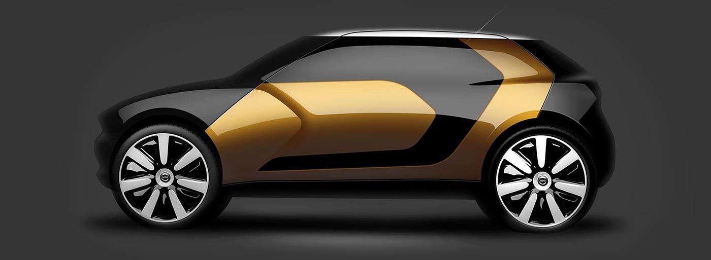 Automotive design product design  industrial design  MINI minicooper
