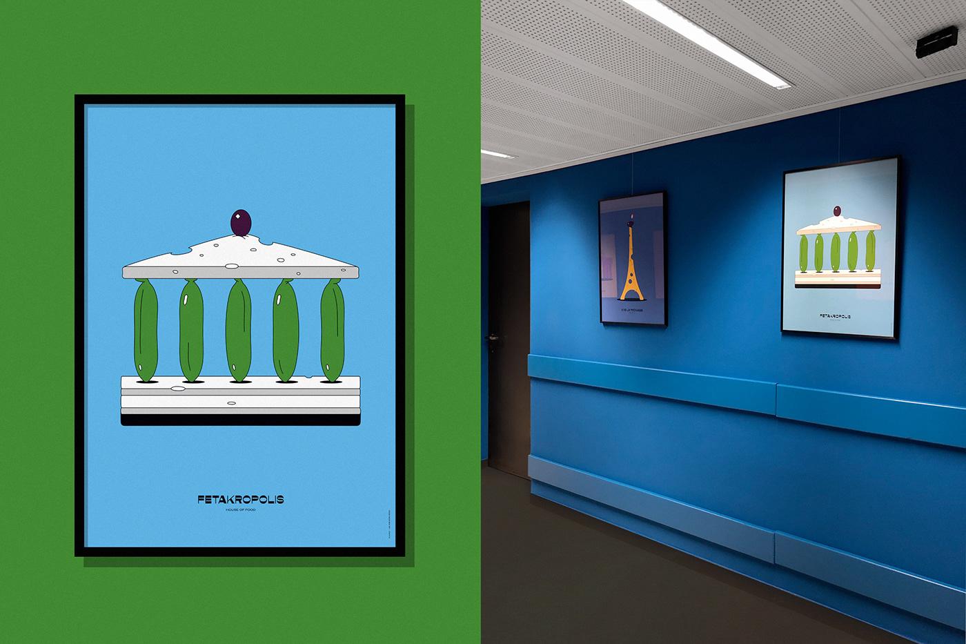 art contemporary design ILLUSTRATION  Interior JULIANFAUDT muralart stefanmückner WABB wearebürobüro