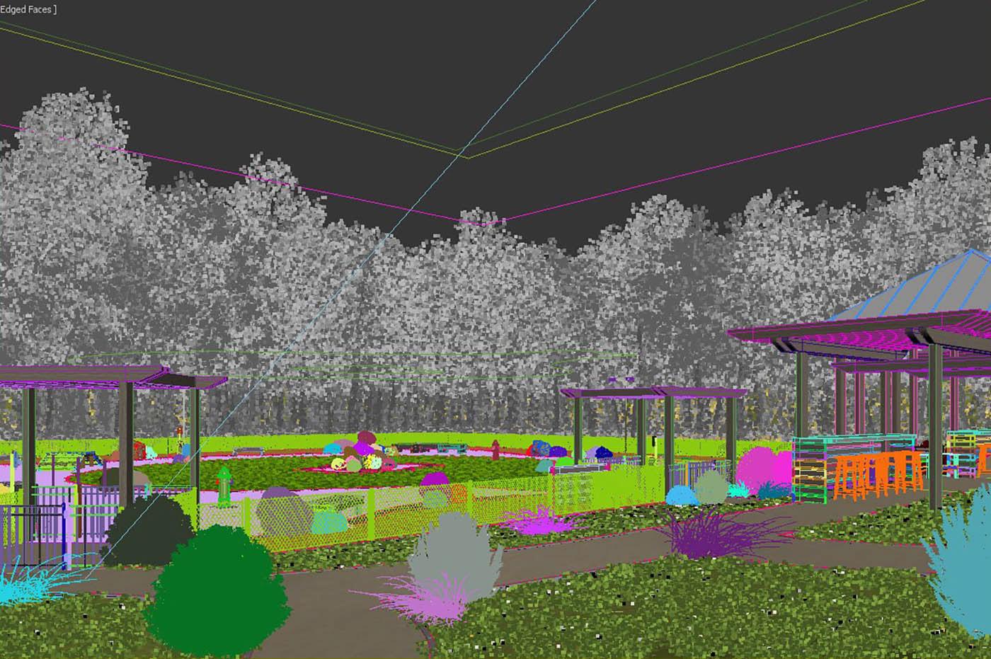 Image may contain: grass, tree and screenshot