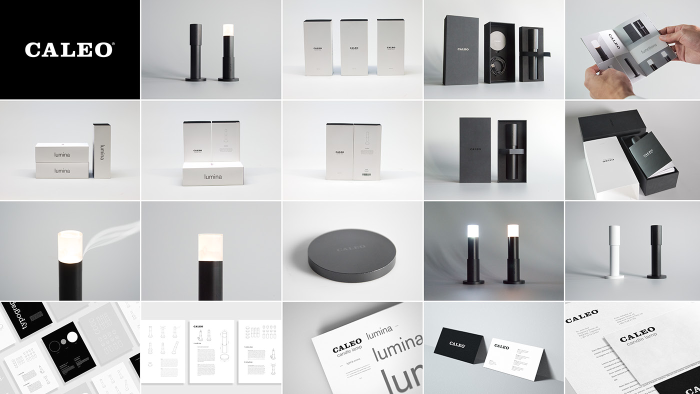 Lamp Packaging product branding  candle bachelor thesis furniture design stores minimalistic adobeawards