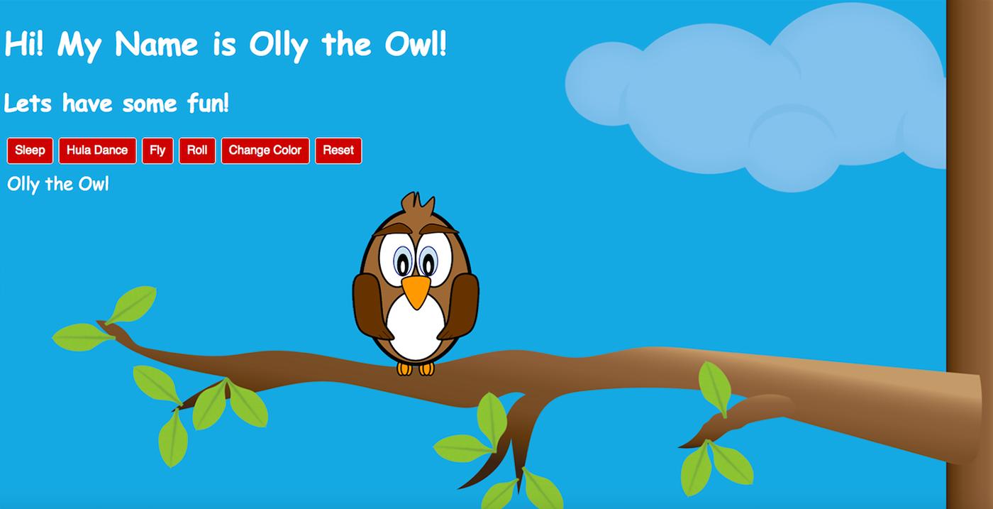 Olly the Owl on Behance
