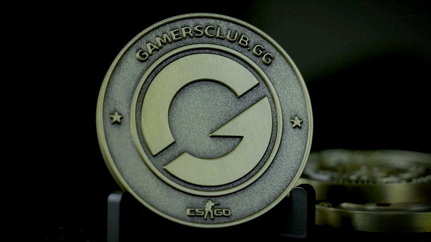 Medal coin bronze legend gamers club csgo counter strike rank