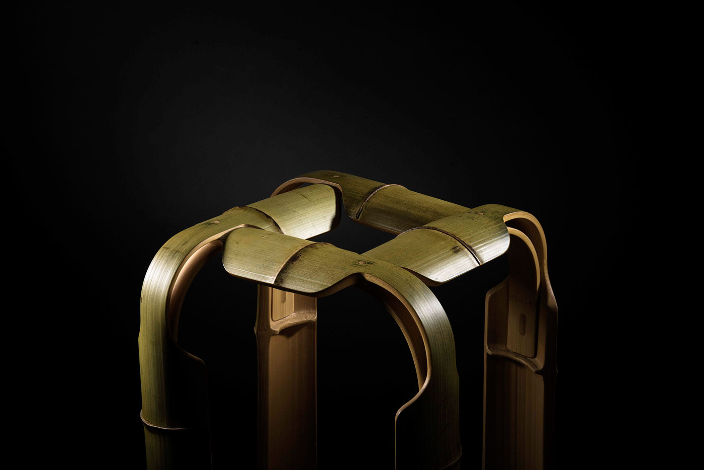 bamboo stool chair taiwan Moso structure furniture texture Form craft