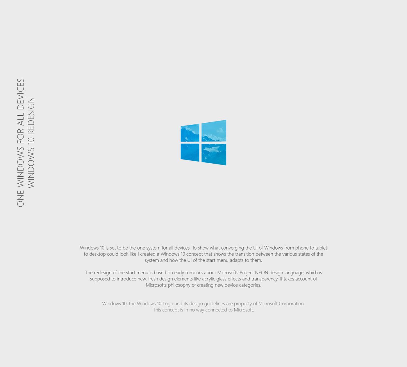 windows 10 windows 10 mobile Project Neon Cshell Microsoft continuum surface phone foldable screen