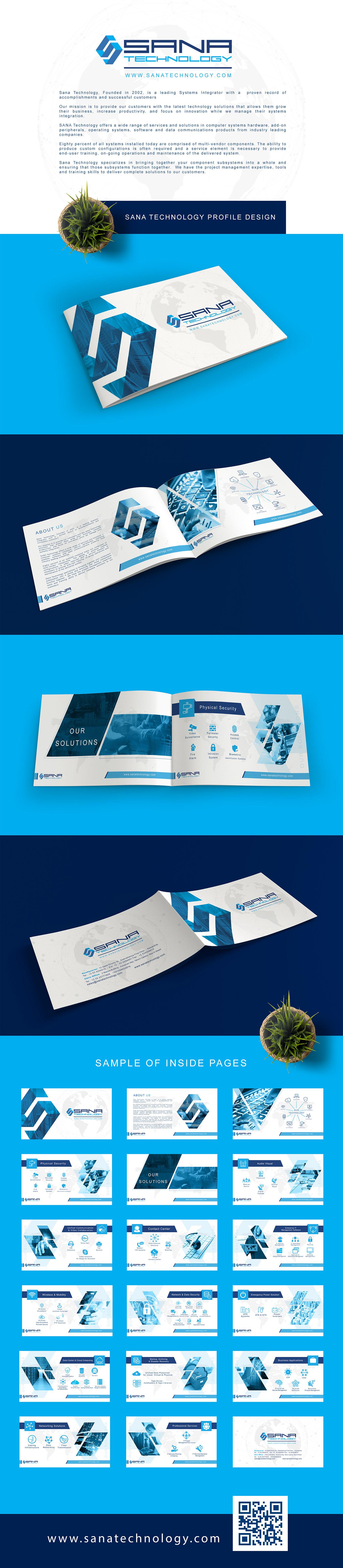 Companey Profile graphic design  branding