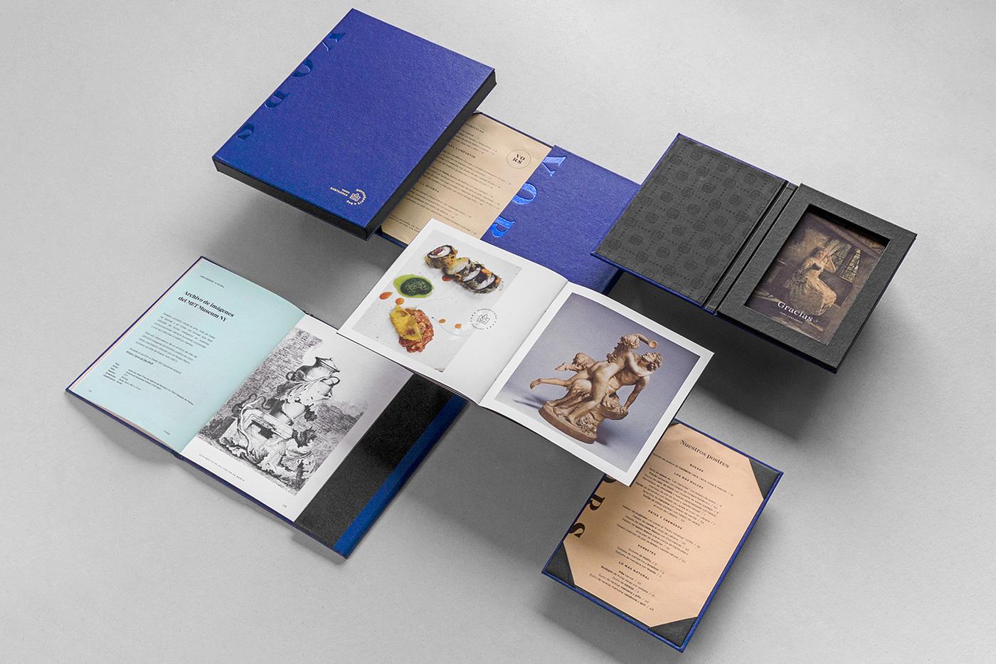 restaurant menu box luxury santander bar vors castelar